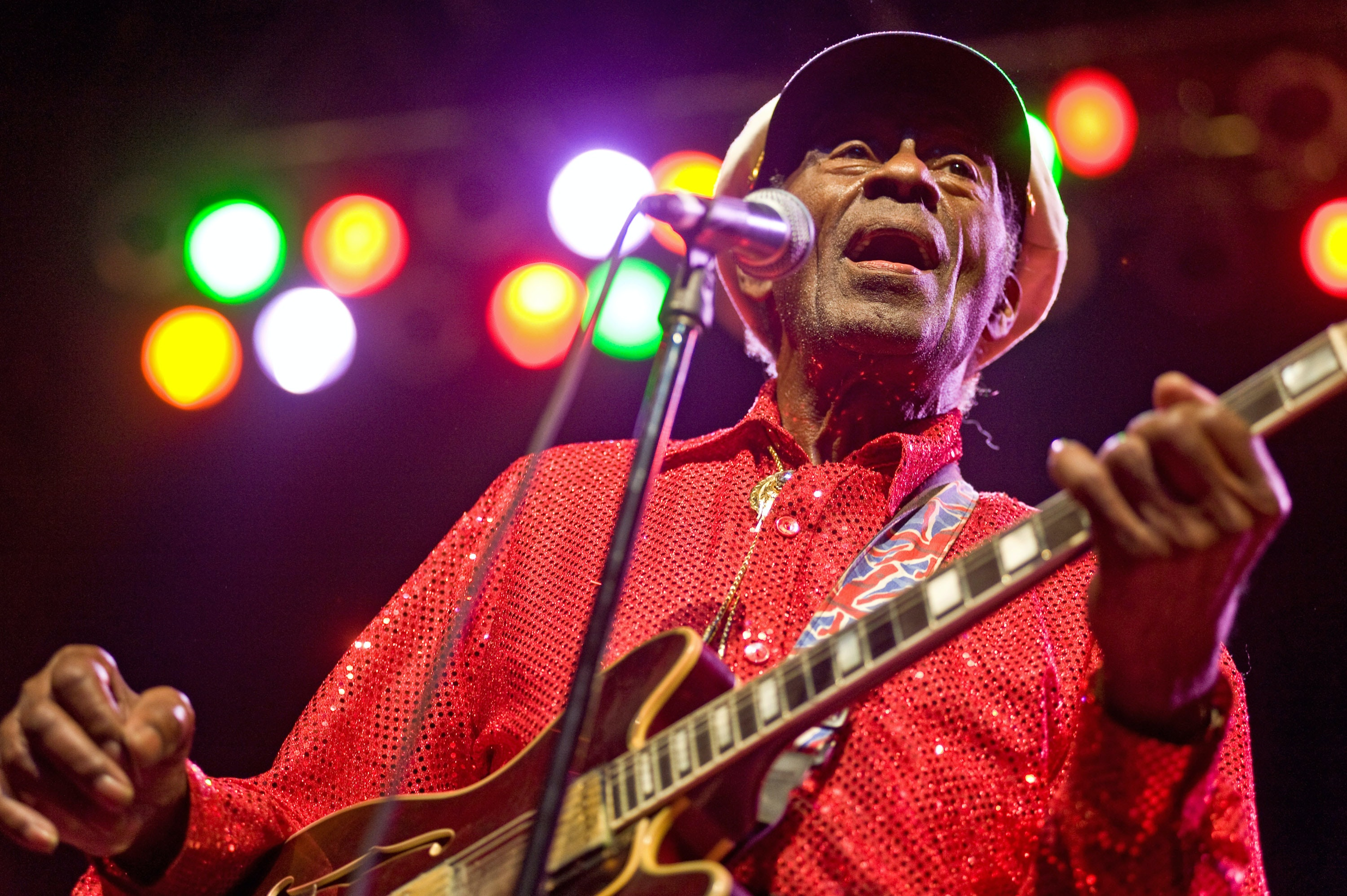 Chuck Berry's music teaching kindergartners the history of Rock