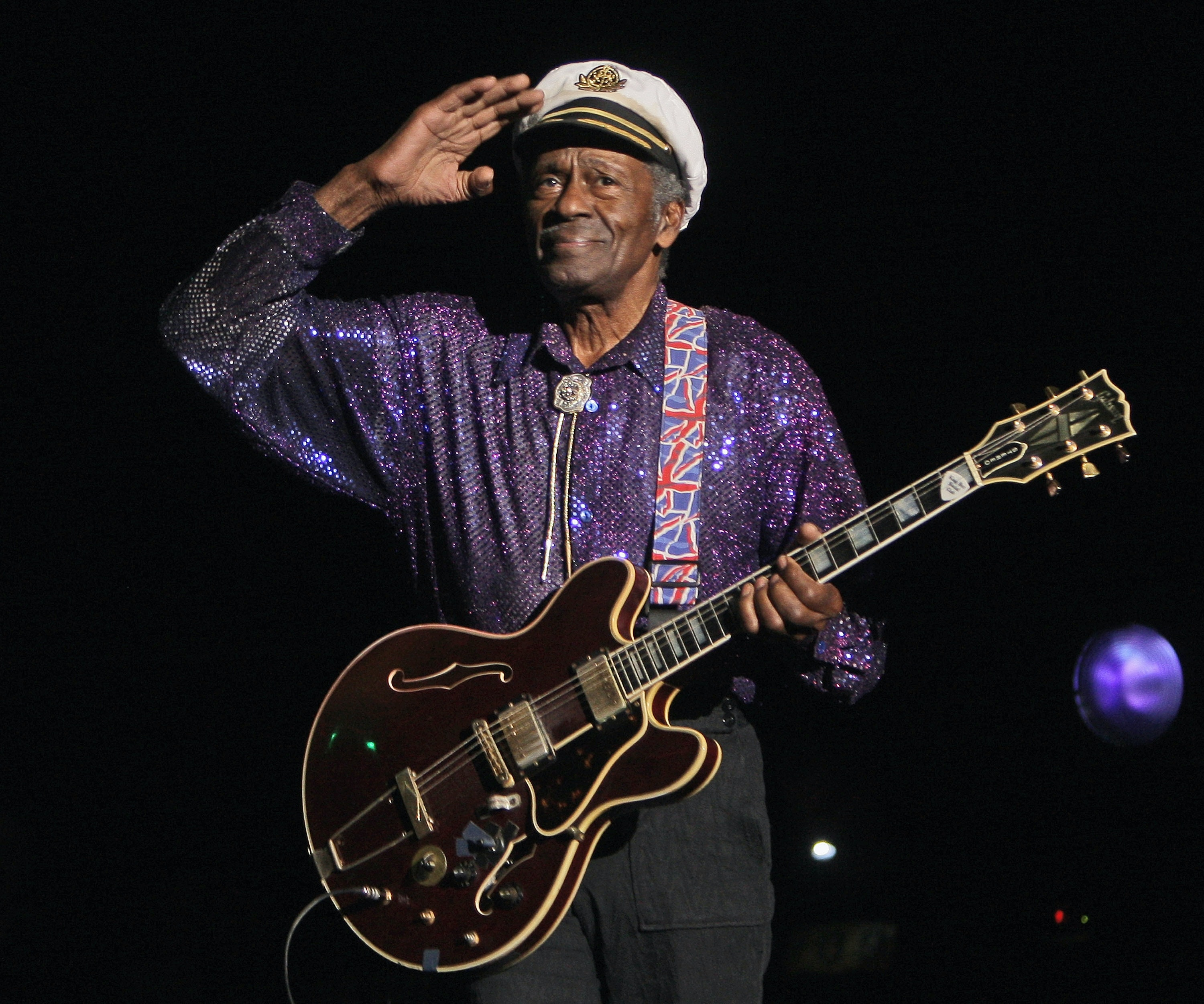 Chuck Berry: Tributes paid to 'rock's greatest practitioner'