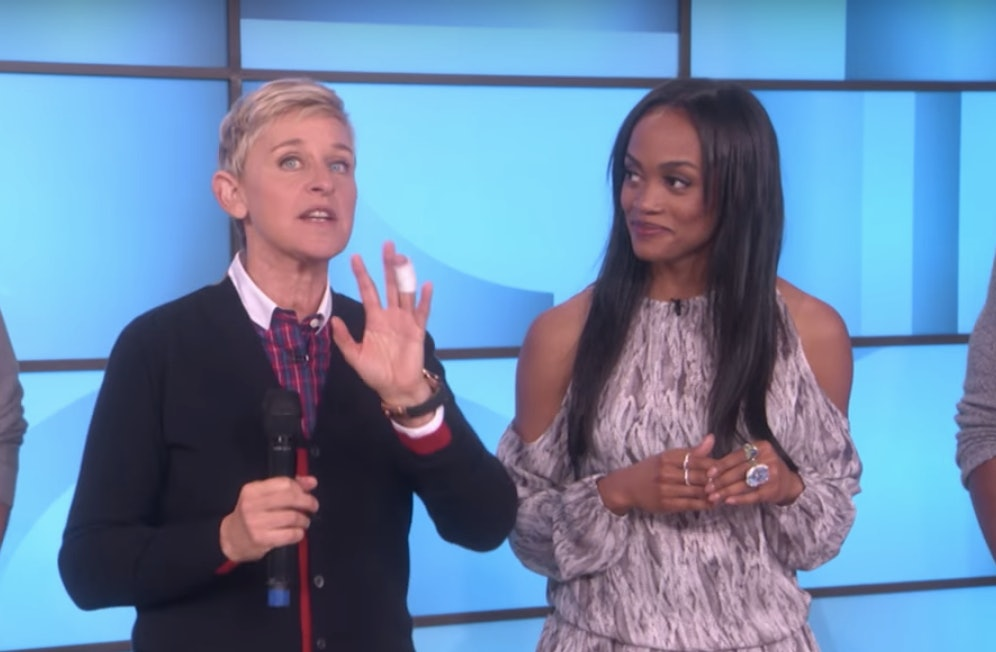 Ellen Gives Rachel Lindsay (And Us) An Unforgettable Group Date