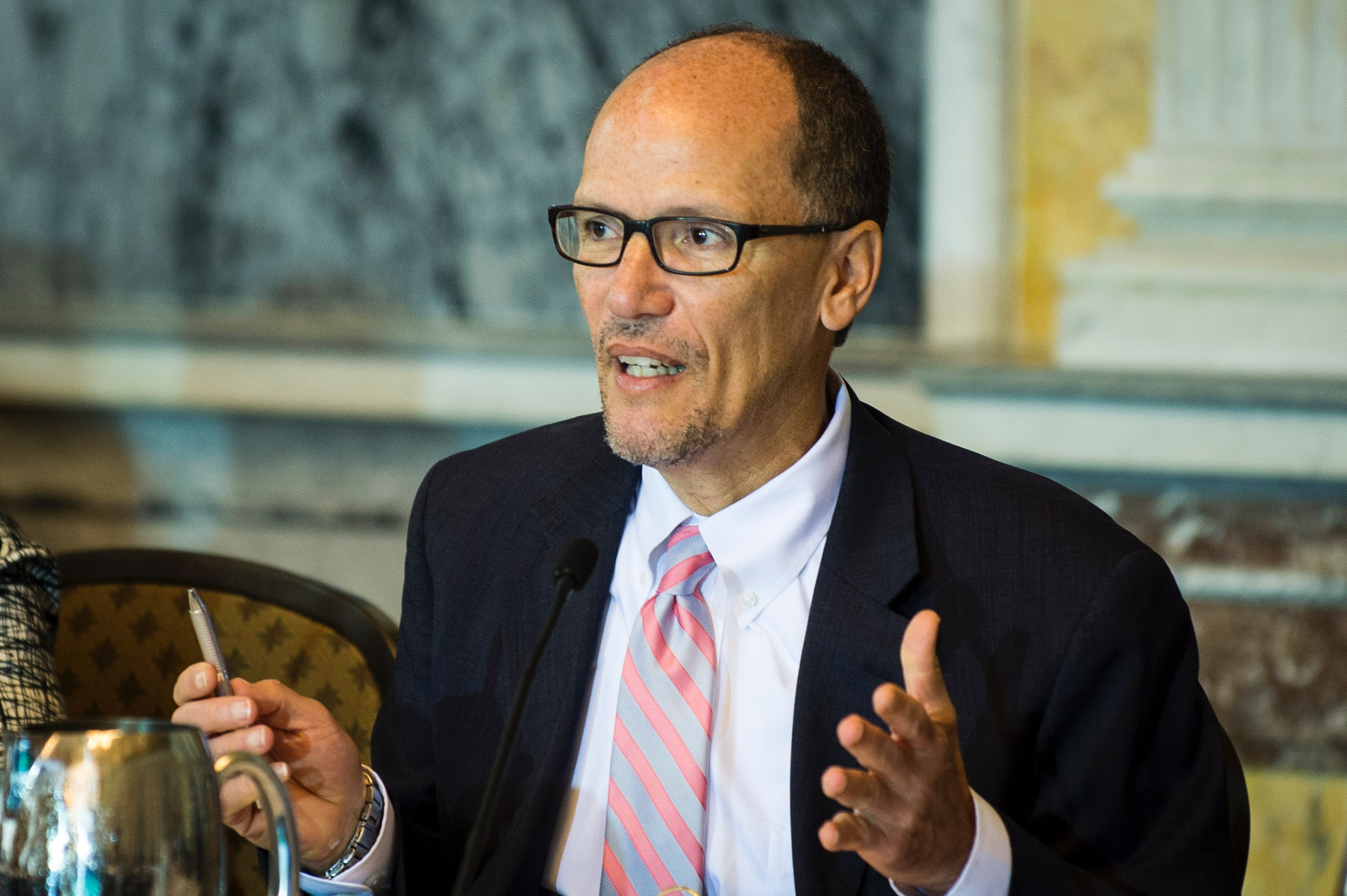DNC Chair Perez Calls On All Staffers To Resign