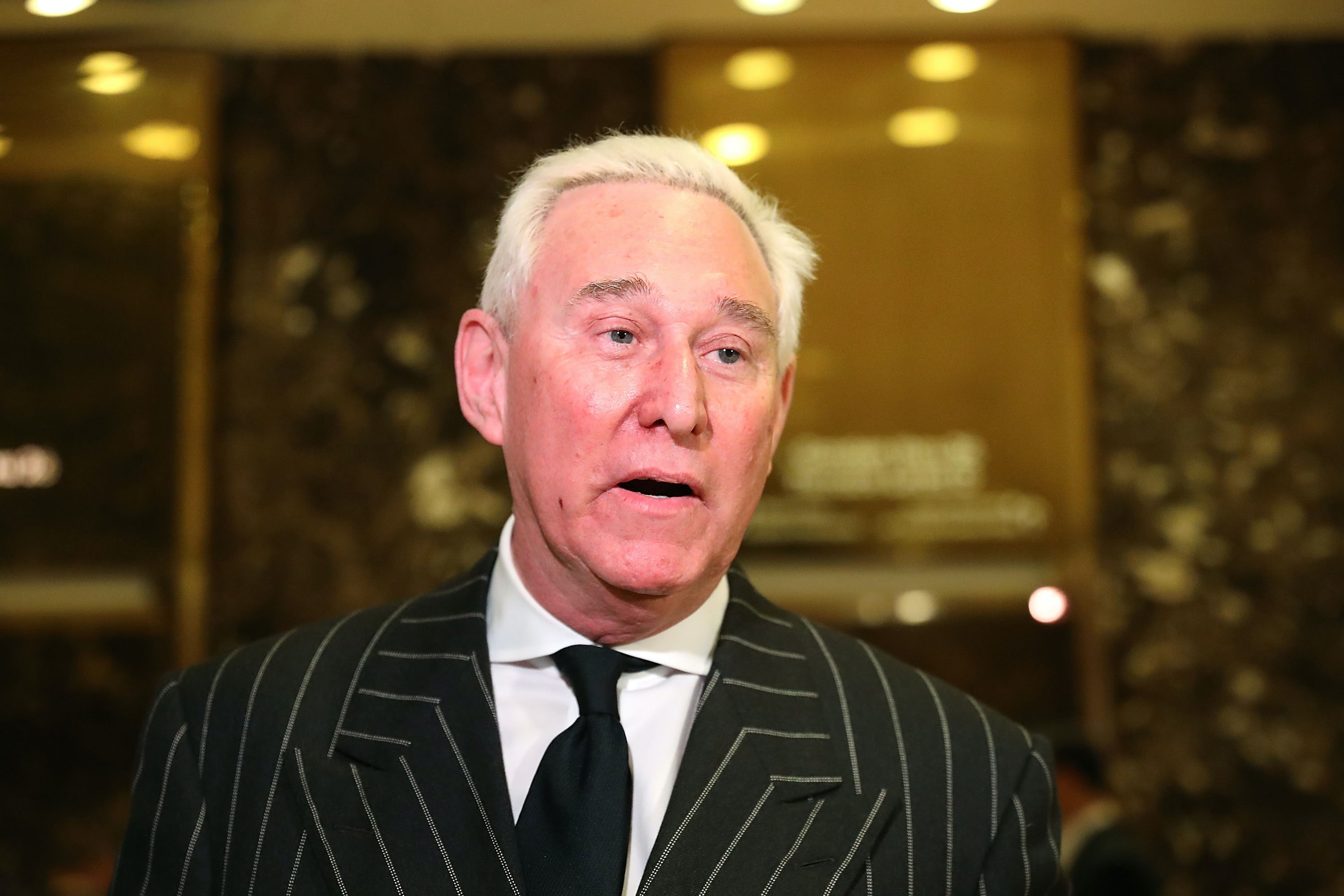 Former Trump Adviser Roger Stone Admits Collusion With WikiLeaks, Then Deletes It