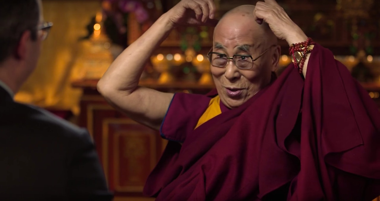 John Oliver's interview with the Dalai Lama is an unexpected delight