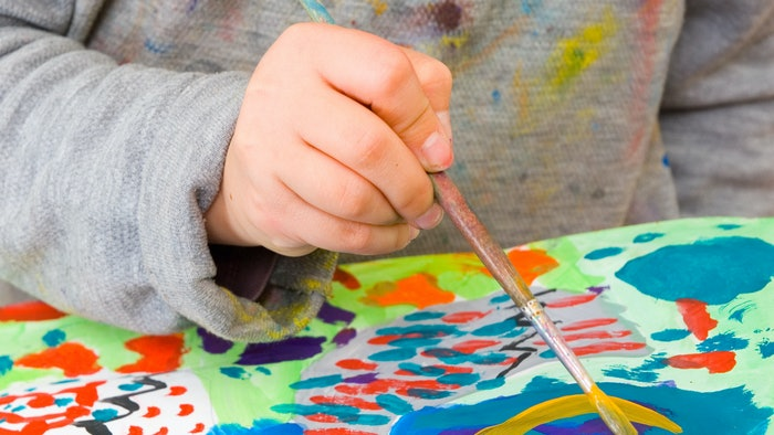 is acrylic paint safe for kids consider this before your next craft time - Paint Pictures For Kids