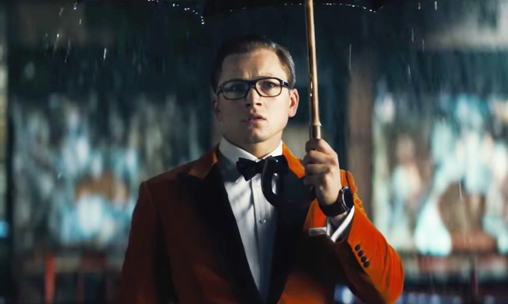 the song in the kingsman 2 trailer matches the tone of the action perfectly video