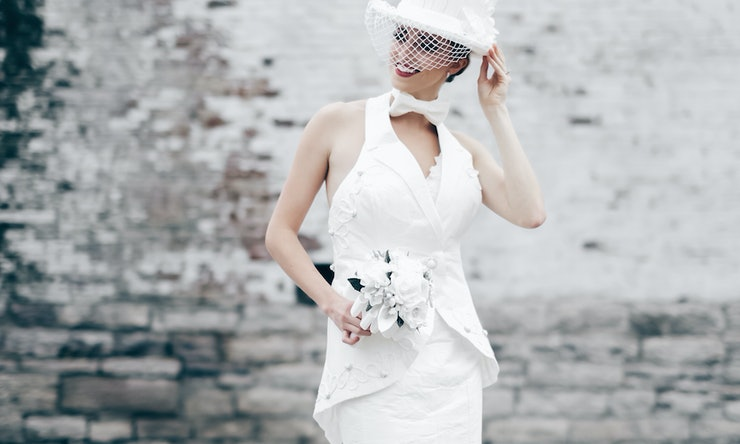 The toilet paper wedding dress competition is a fun take for Toilet paper wedding dress 2017