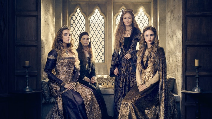 how are 39 the white princess 39 39 the white queen 39 connected the new starz series is a sequel. Black Bedroom Furniture Sets. Home Design Ideas