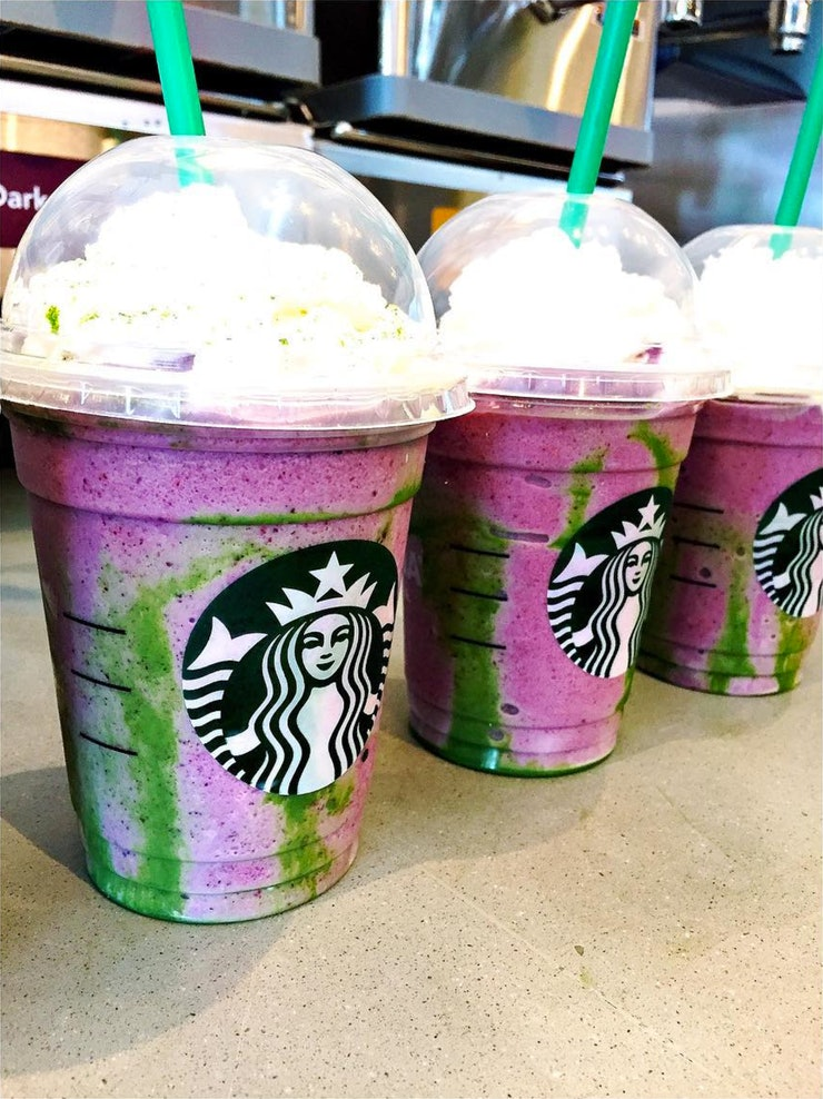 What Is In The Mermaid Frappuccino Here S How To Order