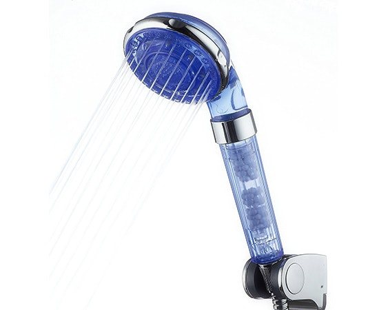 6a handheld shower head with mineral balls