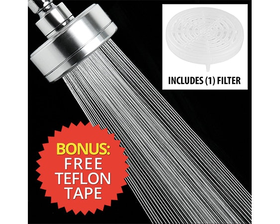 5the shower head that helps prevent hair loss caused by chlorinated water