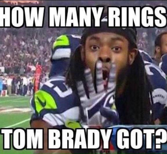 tom brady 4 rings 24 hilarious memes to perfectly describe super bowl xlix
