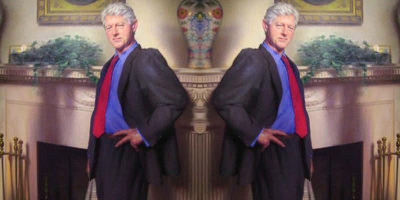 The blue dress bill clinton