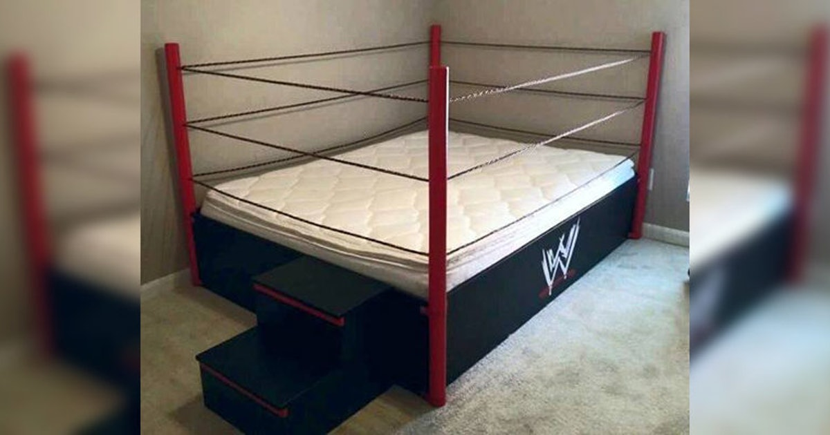 This Insane Wwe Bed Is Every Wrestling Fan S Dream Come True