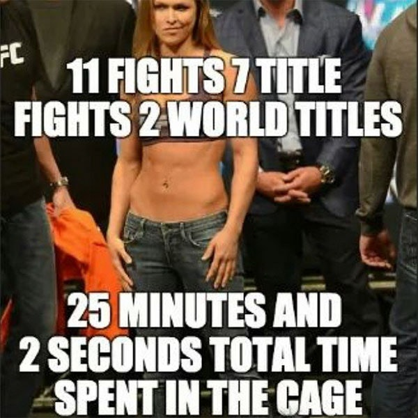 rousey 2 26 reasons ronda rousey is the most dangerous woman in sports