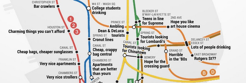 Nyc Judgemental Subway Map.This Judgmental Subway Map Perfectly Describes Your Nyc Commute Photos