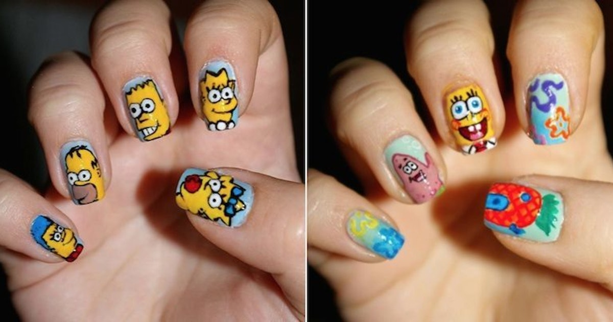 Nail Polish Designs For Girls Ages