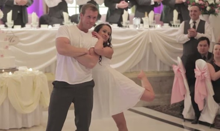 Newlyweds Surprise Wedding Party With An Epic Choreographed Dance Video