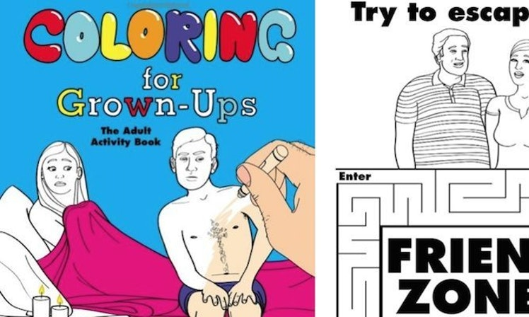 Hilarious Coloring Book For Grown-Ups Knows Adult Life Way Too ...