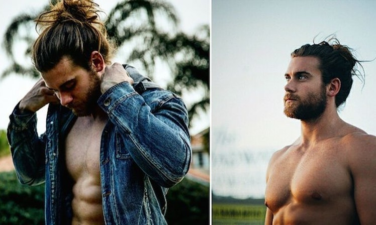 Omfg You Need To See This Insanely Hot Guy With A Man Bun