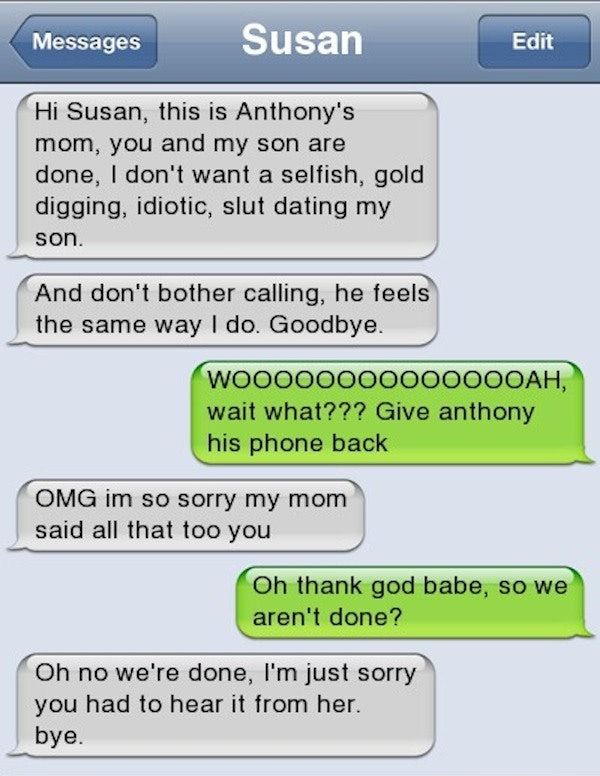 Funny ways to start a text message
