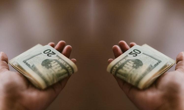 Hasil gambar untuk separate money