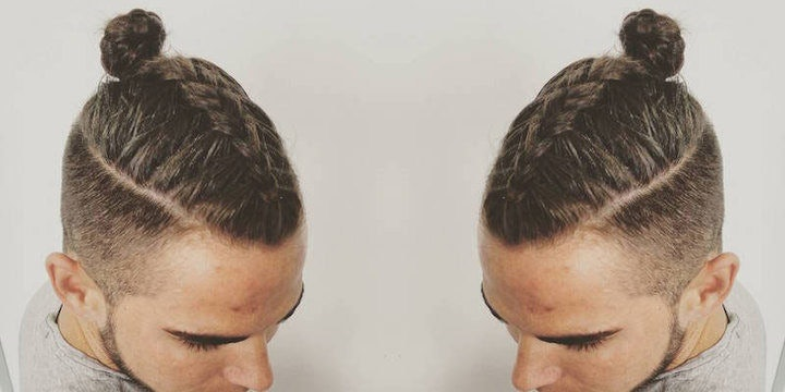 Manbraid is the new man bun men are now french braiding their hair manbraid is the new man bun men are now french braiding their hair ccuart Gallery