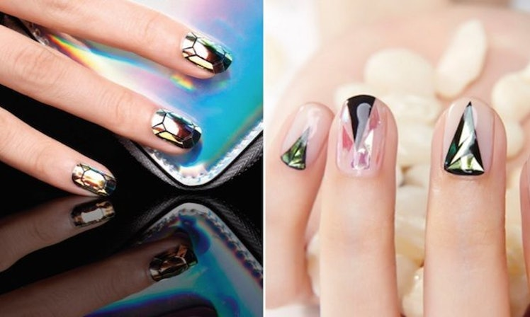 Amazing glass nail art technique is the latest trend you need to amazing glass nail art technique is the latest trend you need to try photos prinsesfo Choice Image