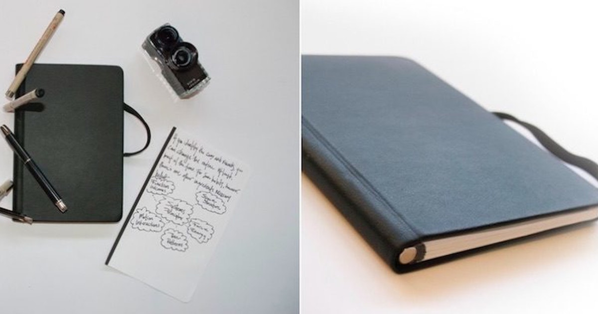 Incredible Notebook Has Magnetic Pages That Can Be Torn