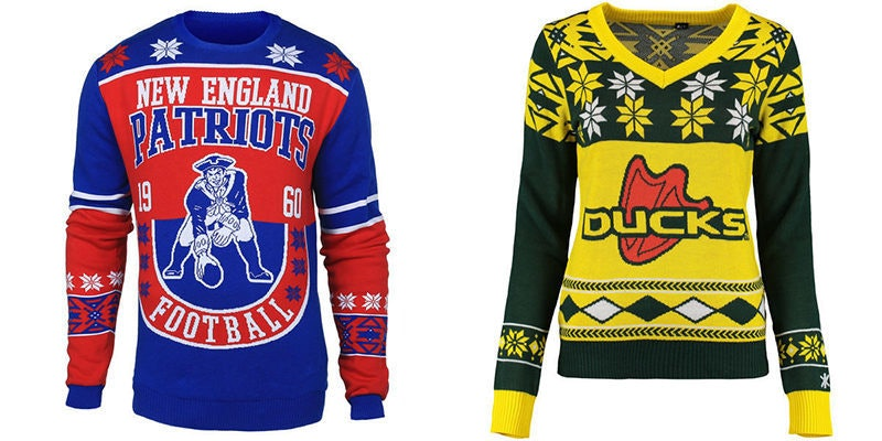 These 'Ugly Christmas Sweaters' Are The Perfect Gifts For Sports ...