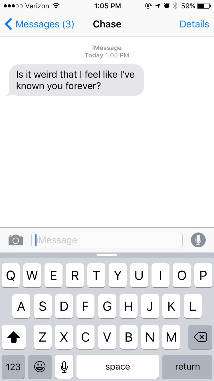 Texts From A Guy That Can Be Cute Or Creepy Depending On If You Like Him