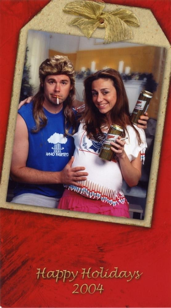 This Couple\'s Christmas Cards Are So Awkward, They\'re Actually ...