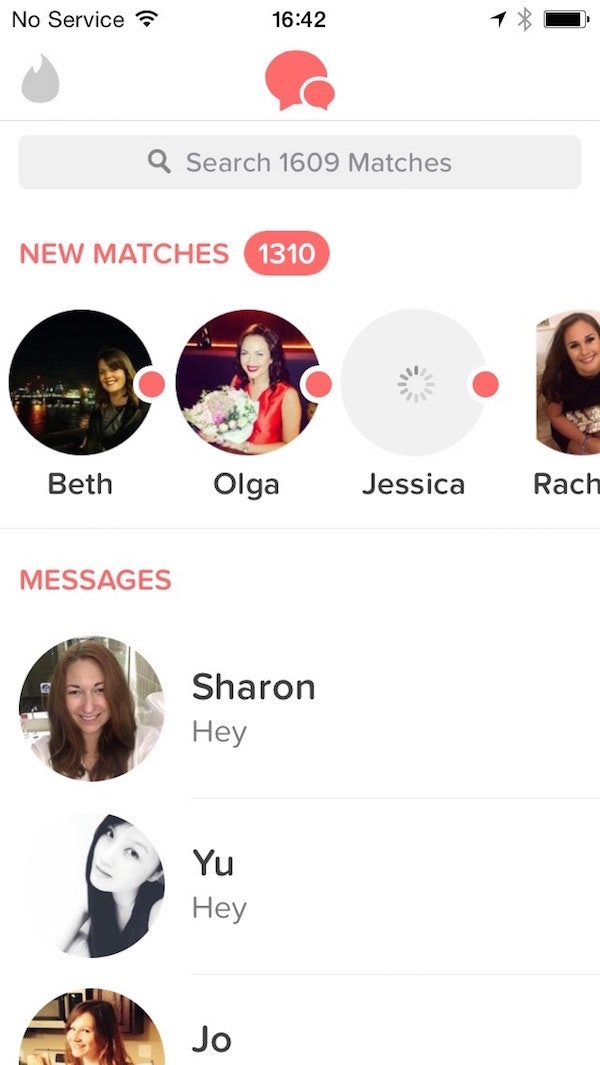 Not getting matches on tinder