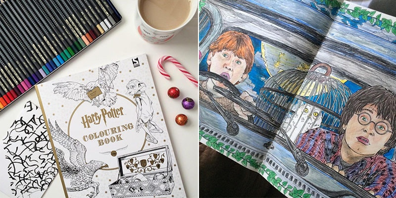 i bought a harry potter coloring book and it changed my life - Harry Potter Coloring Book