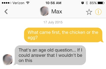 Girls Reveal Their Best Pick-Up Lines On Bumble