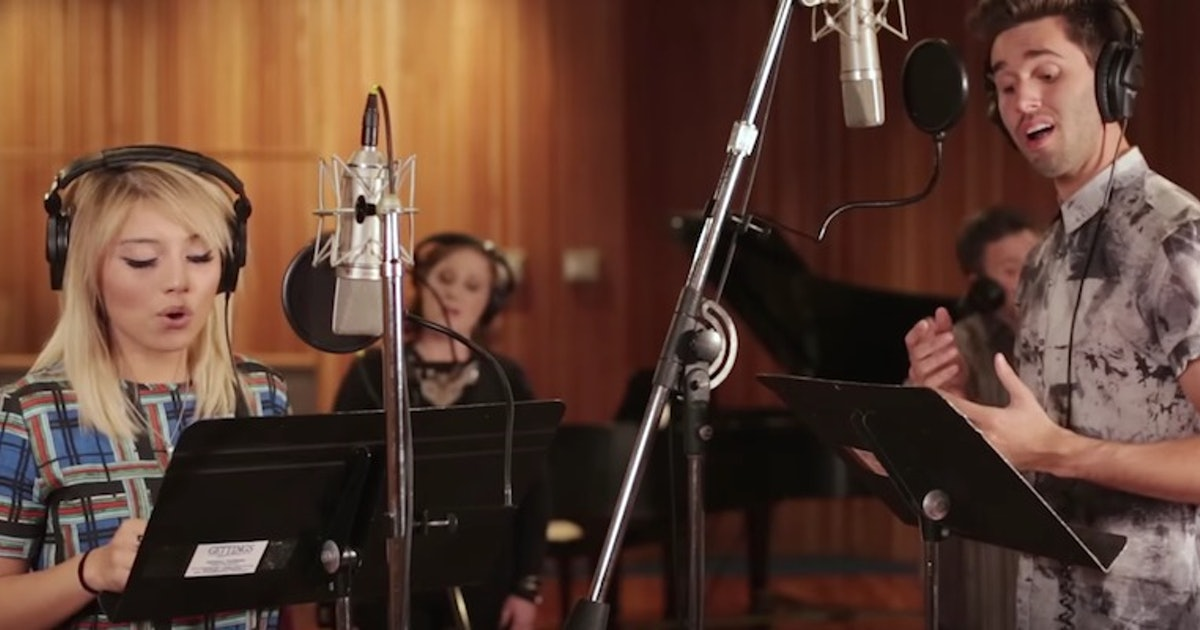 This Amazing Medley Of Disney Love Songs Will Make You