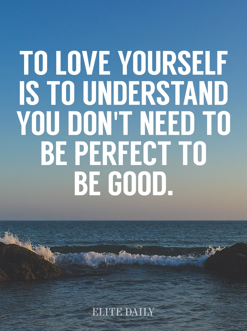 Quotes About Loving Yourself 19 Valentine's Day Quotes To Remind You To Love Yourself