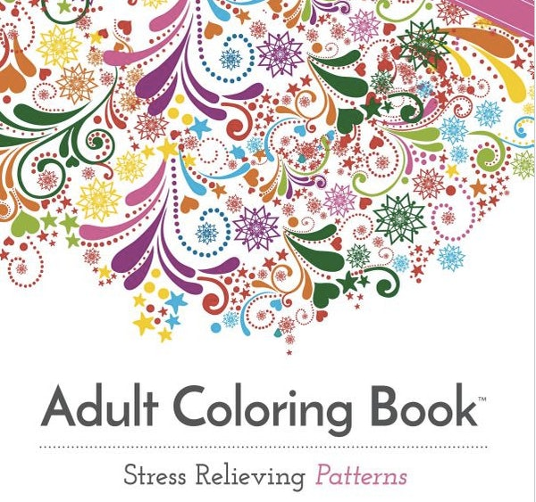 12 Adult Coloring Books For When A Glass Of Wine Isnt Cutting It