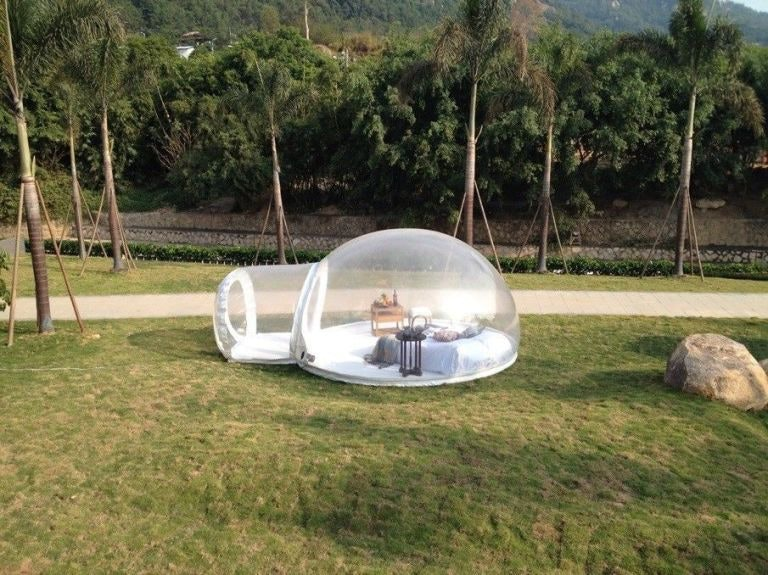 This Epic Tent Looks Just Like Sandy Cheeksu0027 House From u0027Spongebob Squarepantsu0027 & This Epic Tent Looks Just Like Sandy Cheeksu0027 House From u0027Spongebob ...
