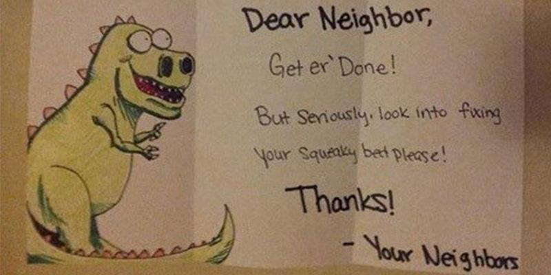Sex with neighbor