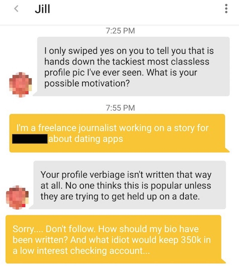 Bumble dating app fake profiles on dating