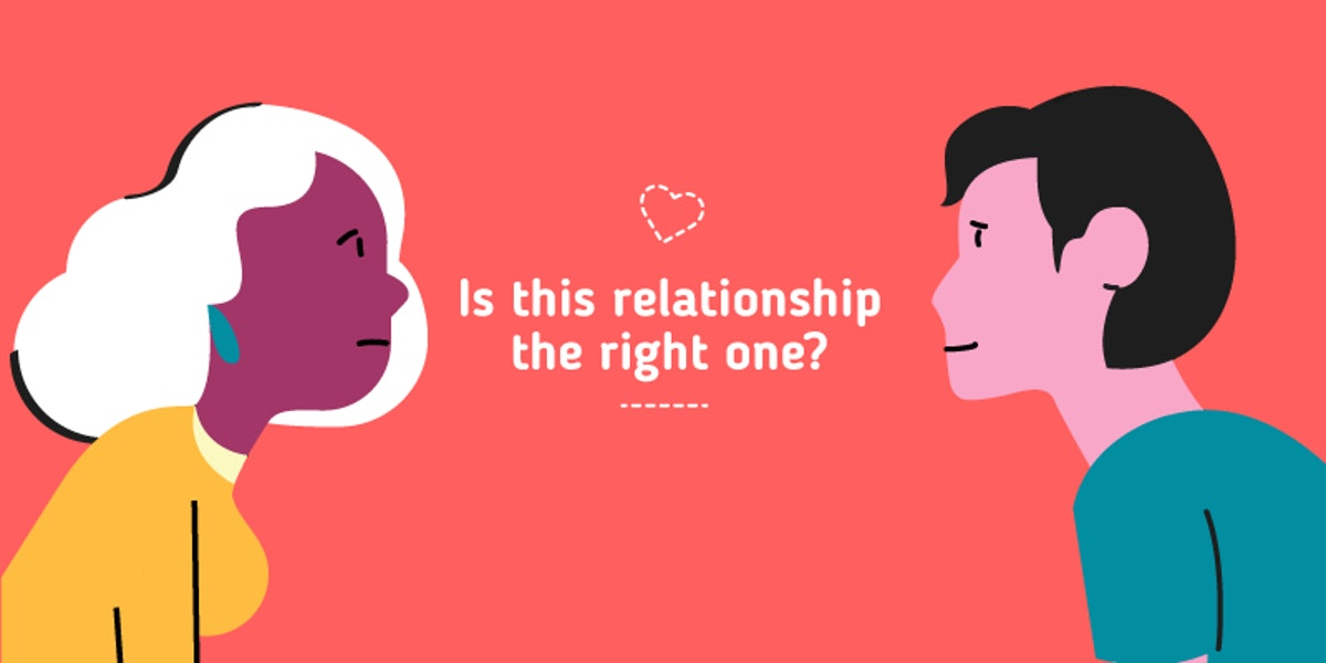 Are you dating the right person quiz