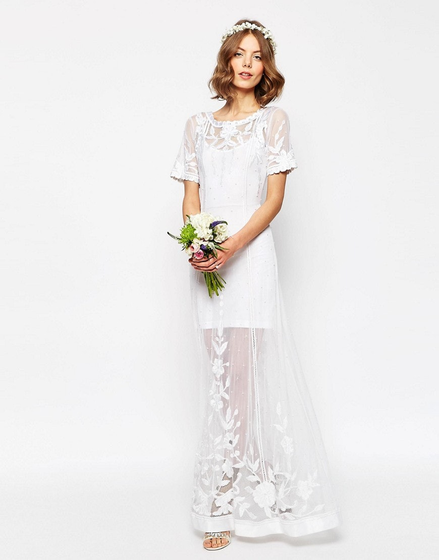 These Gorgeous H&M And ASOS Wedding Dresses Are Perfect For Budget ...