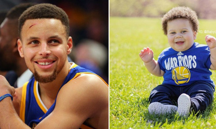Steph Curry's Baby Lookalike Totally Stole The Show On ...