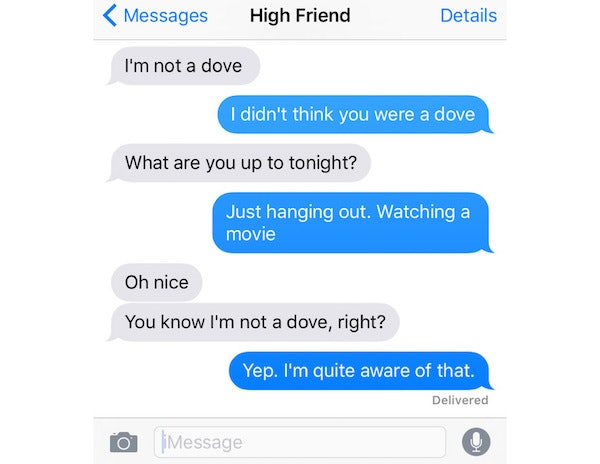 That's The Weed Talking: 10 Signs Your Friend Is Texting You