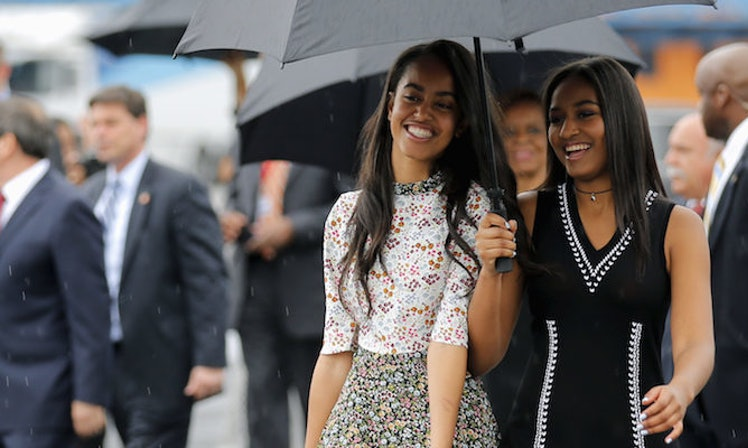 10 Times Sasha Obama Proved She S The Most Stylish