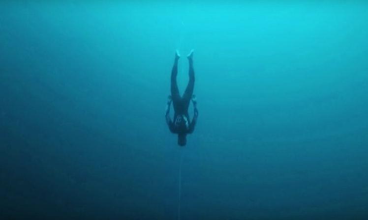 This Deep-Sea Diving Footage Captured Underwater Is