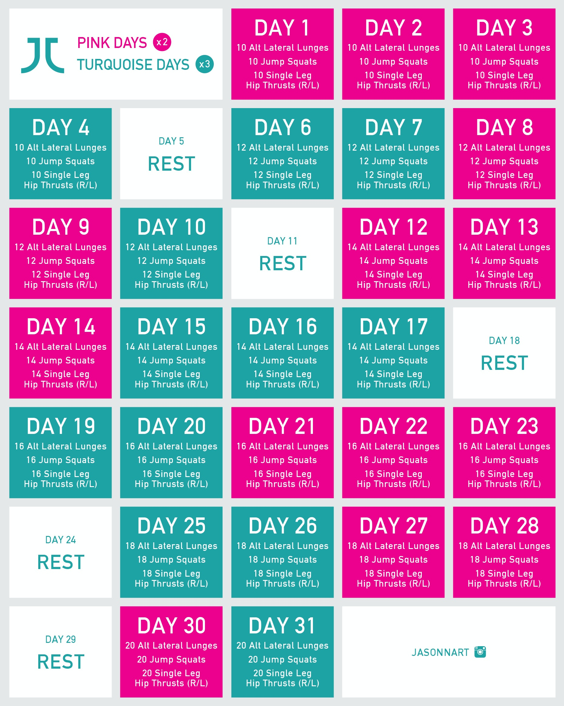 The Foolproof Workout Plan For Toning Your Lower Body In Just 30 Days
