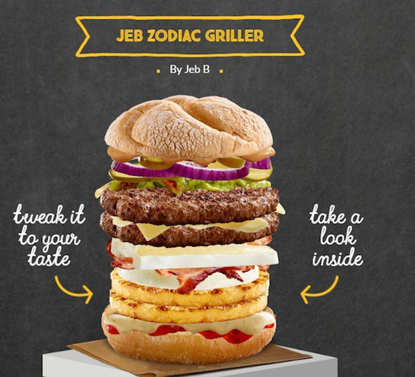 mcdonald s let people design their own burgers and it went downhill