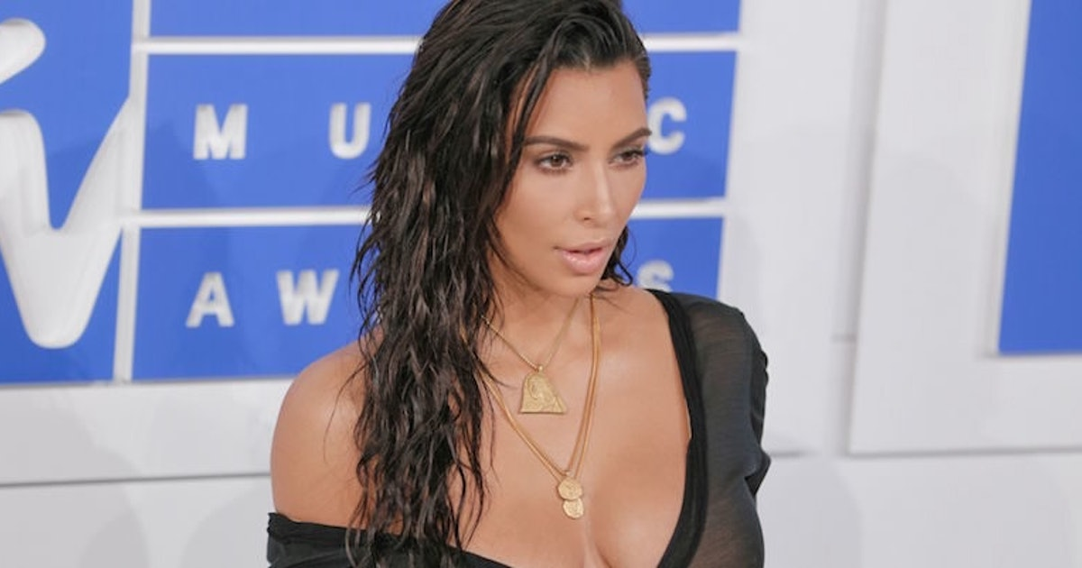 Kim Kardashian Wore Actual Snail Slime In Her Hair For The