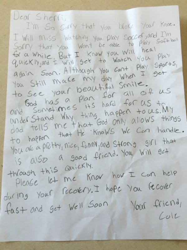 a 5th grader wrote the most adorable love letter to his gf