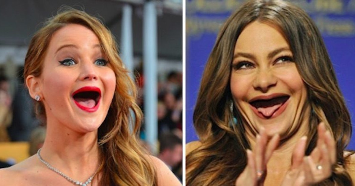 People Are Posting Photos Of Celebs Without Teeth And We Cant - Celebrities without teeth